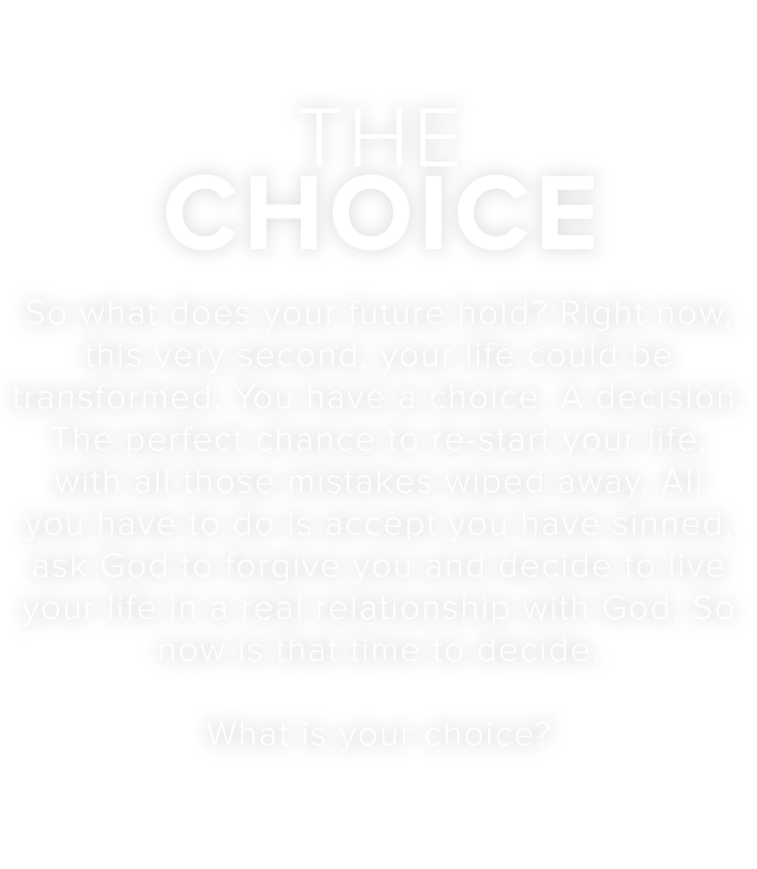 The Story Of Love – The Choice