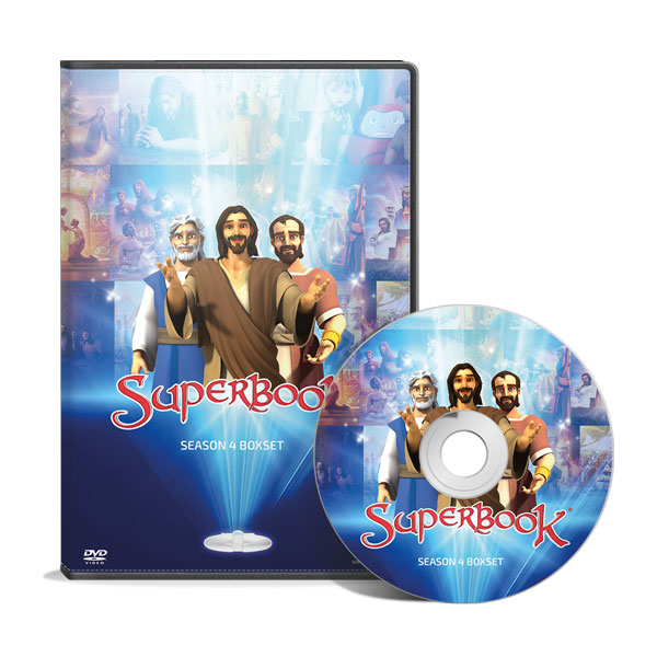 Superbook Season 4 Boxset Product Image